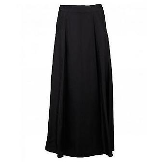 Calvin Klein Womenswear Silk Twill Midi Skirt