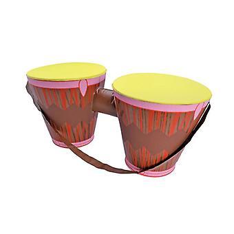 Opblaasbare Bongo Drums (60x26cm)