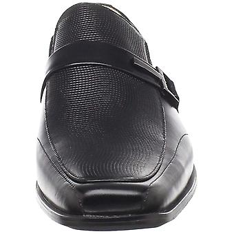 Stacy Adams Mens BEAU Fabric Square Toe Penny Loafer