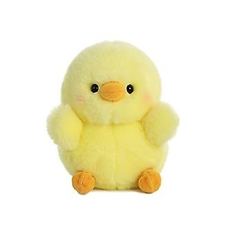 Chickadee Chick Rolly Pet 5 inch - Stuffed Animal by Aurora Plush (08818)