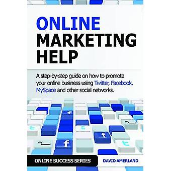 Online Marketing Help How to Promote Your Online Business Using Twitter Facebook Myspace and Other Social Networks. by Amerland & David