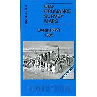Leeds (NW) 1889: Yorkshire Sheet 218.01 (Old Ordnance Survey Kart over Yorkshire)