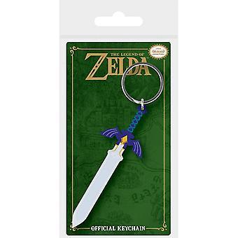 Zelda Master Sword Rubber Sleutelhanger