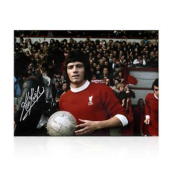 Kevin Keegan Signed Liverpool FC Football Photo: Anfield Debut