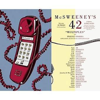 McSweeney's Issue 42 by Dave Eggers - 9781936365777 Book