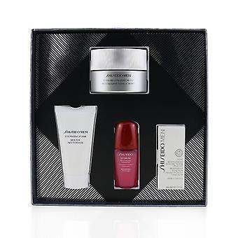 Men Total Revitalizer Cream Set: Total Revitalizer Cream 50ml + Cleansing Foam 30ml + Ultimune Concentrate 10ml + Revita