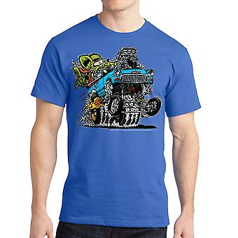 Rat Fink 55' Blue Chevy Ed