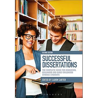 Successful Dissertations by Caron Carter