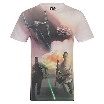 Star Wars Miesten T-paita Sublimaatio Kylo Ren Finn Rey VIRALLINEN Lahja
