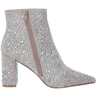 Betsey Johnson Women's Shoes Cady Almond Toe Ankle Fashion Boots