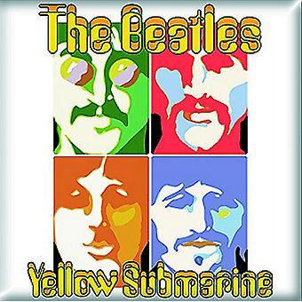 The Beatles Fridge Magnet Yellow Submarine Sea of Science Official 76mm x 76mm
