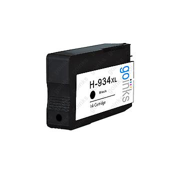 1 Schwarz kompatible HP 934Bk (HP934XL) Drucker Tintenpatrone