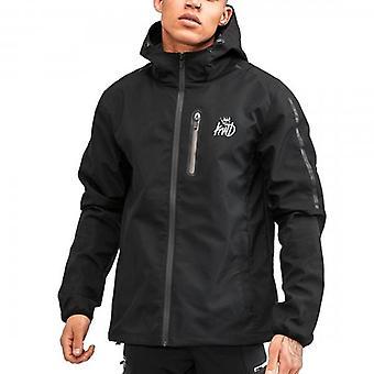 Kings Will Dream Avell Black Windbreaker Lightweight Jacket