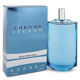 Chrome Legend Eau De Toilette Vaporisteur par Azzaro 4,2 oz Eau De Toilette vaporisateur