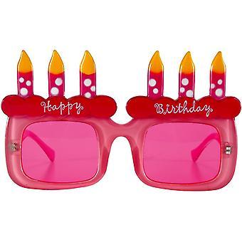 Happy Birthday Cake Glasses