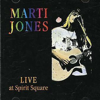 Marti Jones - Live at Spirit Square [CD] USA import