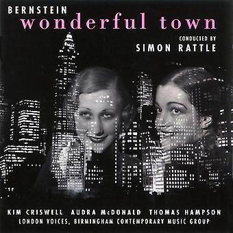 Rattle*Simon - Bernstein: Wonderful Town [CD] USA import