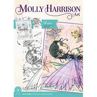Crafter's Companion Molly Harrison Lily of Love Clear Stamps