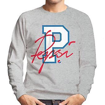 Pepsi retro college sport mannen ' s Sweatshirt