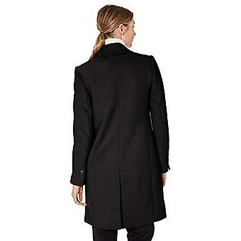 ブランド - ラーク&ロ・ウーマン&アポス;シングル・ブレスト・ウォーカーコート、ブラック、12