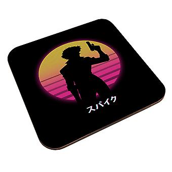 Lunastettu Criminal Retro Sunset Cowboy Bebop Coaster