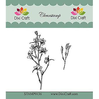 Dixi Craft Botanisk Samling 2 Klar Stämpel