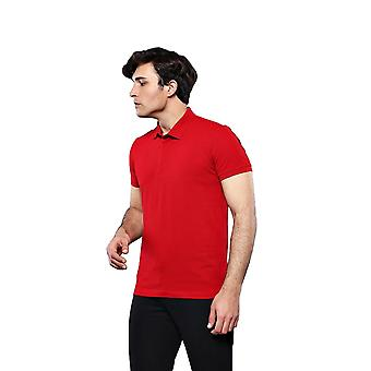 Polo plain red t-shirt   wessi