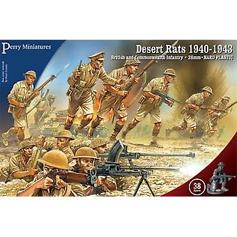 Perry Miniatures Desert Rats 1940-43