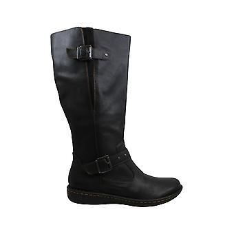 B.O.C. Austin Wide-Calf Riding Boots Black 10M