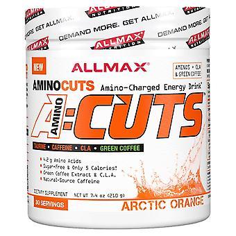 ALLMAX Nutrition, ACUTS, Amino-Charged Energy Drink, Arctic Orange, 7.4 oz (210