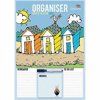 Otter House 2021 A3 Calendar-rnli Lifeboats Organiser