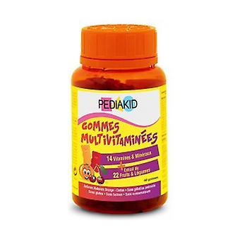 Multivitamin gums 138 g (Orange - Cherry)
