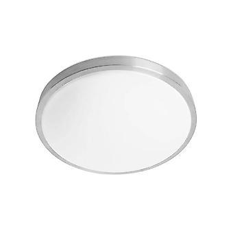 Forlight Tempo - Badrum LED Round Enkel Flush Tak Ljus Blank 35cm 1880lm 3000K IP44