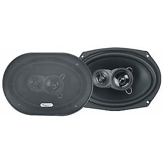 Lautsprecher x693 Drei-Wege-Triaxial 500 Watt schwarz