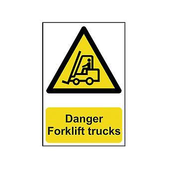 Scan Nebezpečí Vysokozdvižné vozíky - PVC 200 x 300mm SCA0954