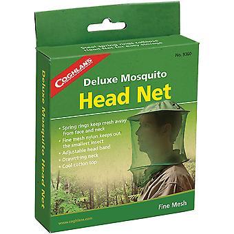Coghlan's Deluxe Mosquito Head Net, Justerbar, Finmaskigt stoppar små insekter