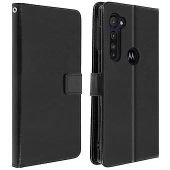 Case for Motorola Moto G Pro Wallet and Stand Function - Black