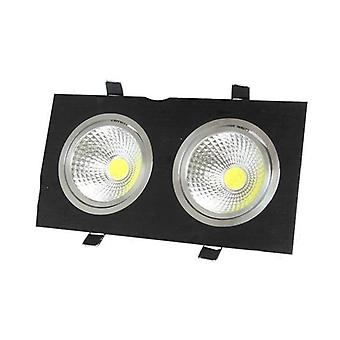 Dimmable Led Recessed Light - Dual Head Grille Lamp