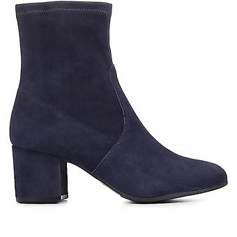 Jones Bootmaker Womens Ravello Slouch Suede Ankle Boots