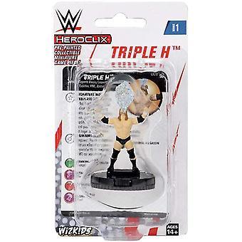 UNIT WWE HeroClix Triple H Expansion Pack W1