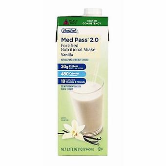 Hormel Med Pass Oral Supplement Vanilla Flavor, 32 Oz