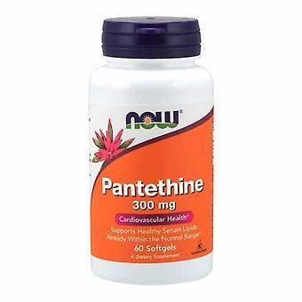 Maintenant Aliments Panethine, 300 mg, 60 Sgels
