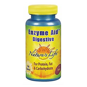 Nature's Life Enzyme Aid Digestive, 100 tabs