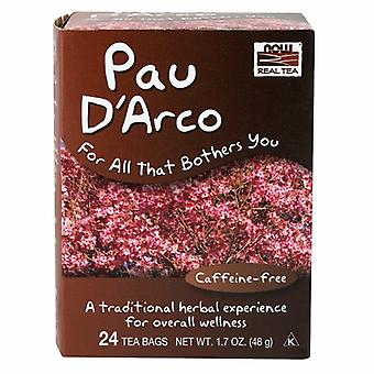 Nyt Foods Pau D Arco Tea, 24 pussia