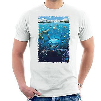 Pixar Finding Nemo Character Montage Men's T-Shirt