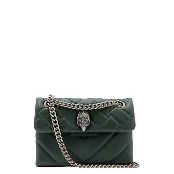 Kurt Geiger Kga147088710987 Women's Green Leather Shoulder Bag