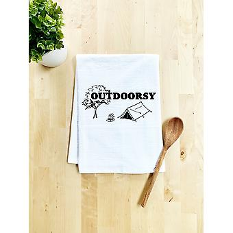 Outdoorsy - Cotton Flour Sack Towels.