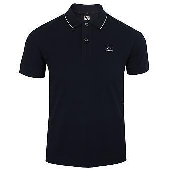 C.p. company men's navy polo shirt
