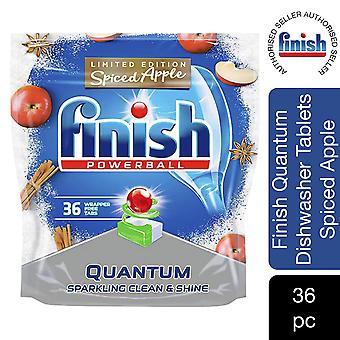 2 Pack Finish Quantum Spiced Apple Limited Edition Lave-vaisselle Comprimés, 36's