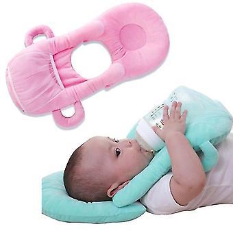 Baby Bottle Holder Feed Pillow Infant Self Nursing pad Free Hand Cotton Children Milk Feeding Breastfeeding Bottle Rack